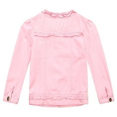 Richie House Girls Sweet Pink Jacket with Split Design RH1698-3/4-FBA