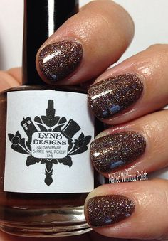 LynBDesigns Coffee, Coffee, Coffee in direct light . Nail Desing lyn b designs nail polish And July, Coffee Colour, Swatch, Nail Designs, Nail Polish, Glitter, Nails, Coffee Coffee, Beauty