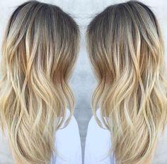 Dreamy buttery blonde