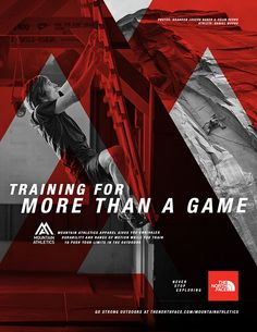 The North Face : Mountain Athletics on Behance