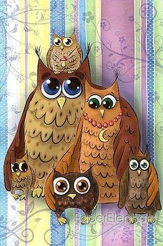 Gallery.ru / Фото #1 - Owls - SpicyAutumn