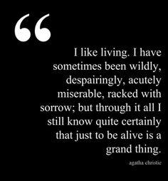 Agatha Christie quote | The Book Habit