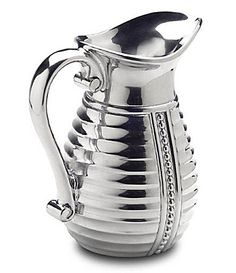 Wilton Armetale Flutes and Pearls Pitcher #Dillards