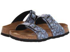 Papillio by Birkenstock Womens Shoe Sandal Slide Mule Sydney Paisley US 7 EU 38  #Birkenstock #Slides