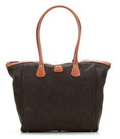 wardow.com - Tasche von Bric's, Life Handtasche olivgruen 31 cm