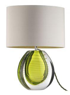 Mia Olive Twist Table Lamp - Heathfield & Co