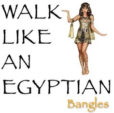 THE BANGLES WALK LIKE AN EGYPTIAN Egyptian, Walking, Bangles, Wonder Woman, Superhero, Audio, Fictional Characters, Music Photo, Bracelets