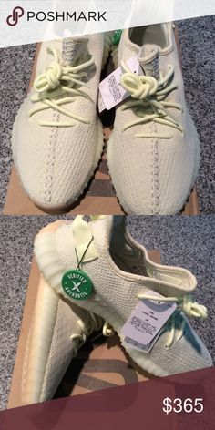 65dbc220bfb1 Pair of butter adidas yeezy boost 350 Pair of butter adidas yeezy boost  size adidas Shoes Sneakers
