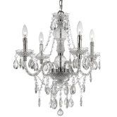 Found it at Wayfair - Fashion 4 Light Mini Chandelier