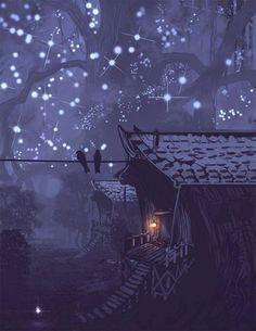 Enchanted den