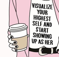 Visualise Your Highest Self And Start Showing Up As Her Quotes Positivity Positive Motivation Pretty Words, Beautiful Words, Cool Words, Wise Words, Blackout Poesie, Affirmations, Image Positive, Motivacional Quotes, Bad Day Quotes
