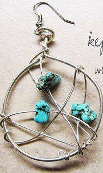 DIY Dreamcatcher Earrings | AllFreeJewelryMaking.com