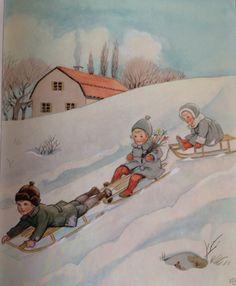 Elsa Beskow - Het jaar rond
