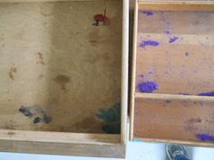 Lake Girl Paints: A Feast is made for Laughter - Buffet, clean and sand drawers, spray of primer, spray of gloss sealer