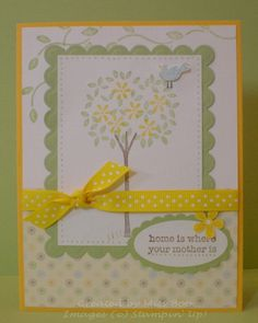 Stampin' Up: Sheltering Tree, Flower Filled, Just So Sayings,Wild About You (2009)