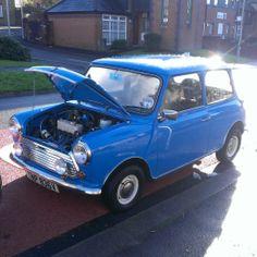 Pageant blue mini