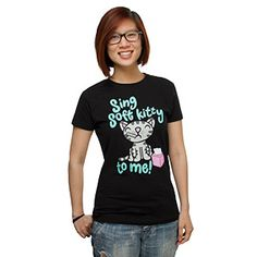 ThinkGeek :: Sing Soft Kitty To Me Babydoll / N'aw! XD