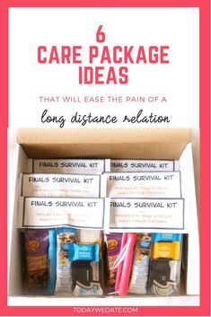 Dating survival kit for boyfriend