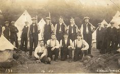14th Battalion, Northumberland Fusiliers at Halton Park in September 1914