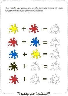 Pracovní listy | Nápady pro Aničku.cz Art For Kids, Activities For Kids, Kindergarten, Children, Child Art, Peda, Art For Toddlers, Kinder Garden, Kids