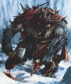 Throgg - Norsca, Warhammer FB