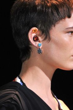 Earrings by Givenchy #jewelry #fashion