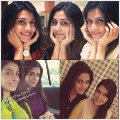 Pakistani celebs but also frnds Ayeza khan—Maya ali—arij fatima Pakistani Girl, Pakistani Dramas, Pakistani Actress, Maya Ali, Faia, Ayeza Khan, Pakistan Fashion, Mix Style, Saree Dress