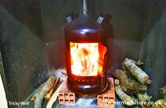 Make your own woodburner