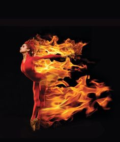 "MISTY COPELAND W/ AMERICAN BALLET THEATER IN ""THE FIREBIRD."""