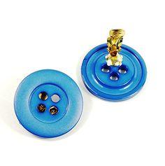 streitstones Ohrklips Knopf blau 34 mm bis zu 50 % Rabatt streitstones http://www.amazon.de/dp/B00TEEDPUA/ref=cm_sw_r_pi_dp_2CT6ub01VXQ4S, streitstones, Ohrring, Ohrringe, earring, earrings, Ohrclips, earclips, bling, silver, gold, silber, Schmuck, jewelry, swarovski
