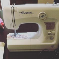 Check it out ☺️... Someone gave me a sewing machine today - I'm blessed beyond…