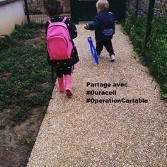 Concours de la rentrée avec #duracell une photo partagé = 30 min de soutien scolaire pour SOS Villages d'enfants