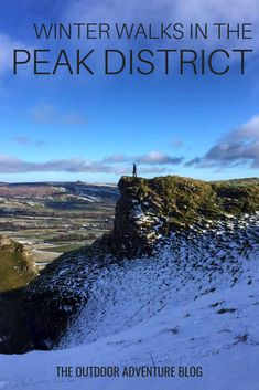 From gentle strolls, to epic ridgeline hikes, the UK's first national park has it all. Get your boots on and enjoy these winter walks in the Peak District. Hiking Routes, Hiking Europe, Hiking Trails, Winter Walk, Winter Hiking, Adventure Holiday, Adventure Travel, Adventure Time, Peak District England
