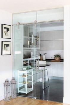 Hängeleuchte USINE aus Metall und Glas, B 102 cm, schwarz   Maisons ...