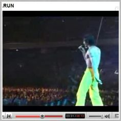 "B'z live on stage "" Run "" Koshi Inaba"