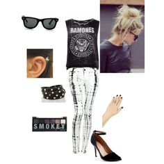 Punk chic, created by meitjie on Polyvore
