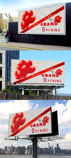 Grand Opening Banner on Behance