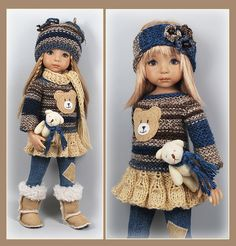 Girl Doll Clothes, Doll Clothes Patterns, Doll Patterns, Girl Dolls, Baby Dolls, Pretty Dolls, Beautiful Dolls, Cinderella Cupcakes, Old Dolls