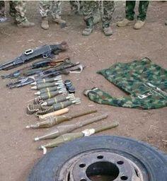 Soldiers Lay Ambush For Boko Haram In Borno (Photos)
