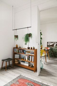 love this plant hanger, but with copper pipe