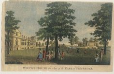 The Cherokee Indians visit Wilton House in England, home to the Earl of Pembroke; the 9th Earl welcomed three Indians. Stalking Turkey, Pouting Pidgeon and Mankiller came to London to discuss the prospects for a lasting peace with King George III, 1762.