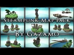▶ Steampunk Map Pack + Download [anyone can use] - YouTube