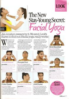 Facial Yoga: Seriously wonderful. I never knew my face could feel sore.: