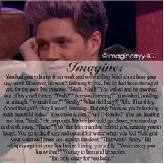 I died when it said he'd been staring for five minutes, then I read the rest and died again! Ugh the feels!