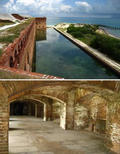 Fort Jefferson in the Dry Tortugas - where Dr. Mudd, who was convicted  for aiding and conspiring with John Wilkes Booth in the 1865 assassination of U.S. President Abraham Lincoln, was imprisioned