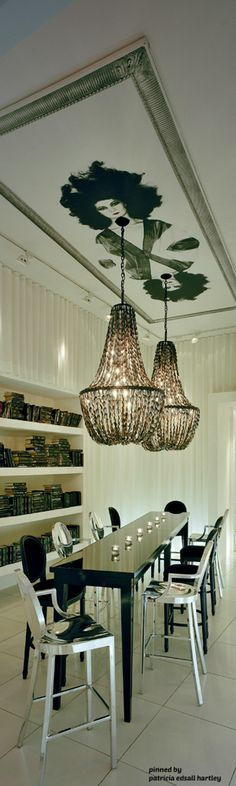 Alexandra Shaw, Power Feng Shui shares this glorious Phillipe Starck room. Superior!