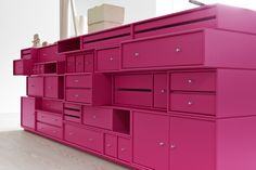 The Big Pink. #montana #furniture #danishdesign #furniture #storage #interior #inspiration #interiordesign #indretning #inredning #einrichtung #workspace #pink
