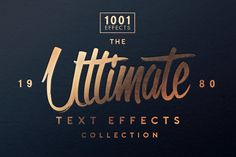 20 Free Photoshop Layer Styles for Creating Beautiful Text Effects Photoshop Fonts, Photoshop Text Effects, Photoshop Fail, Photoshop Projects, Photoshop Design, Photoshop Tutorial, Advanced Photoshop, Photoshop Brushes, Free Text