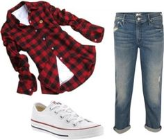 Favorite Chuck Taylor outfits-- I love the shirt and the shoes, but I would have different jeans.