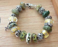 St. Patty's Day Bracelet - with gold
